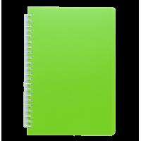 Книга записна на пружині А6 Bright (салатовий) bm.24654155-15