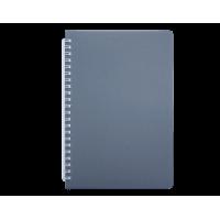 Книга записна Bark В5, 60арк. (клітинка) сірий  bm.24554154-09