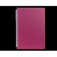 Книга записна Bark А5, 60арк. (клітинка) малиновий  bm.24554154-29
