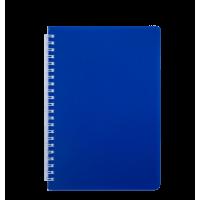 Книга записная Bright А5, 60л. (клетка) синий BM.24554155-02