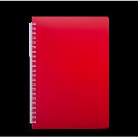 Книга записная на пружине А6 Bright (красный) bm.24654155-05