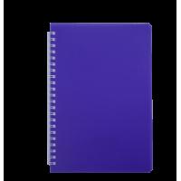 Книга записна на пружині А6 Bright (фіолетовий) bm.24654155-07