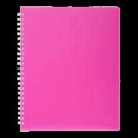Книга записная на пружине А6 Bright (розовый) bm.24654155-10