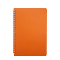Книга записна Bright А5, 60л. (клітинка) помаранчевий BM.24554155-11