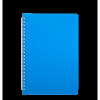 Книга записна на пружині А6 Bright (блакитний) bm.24654155-14