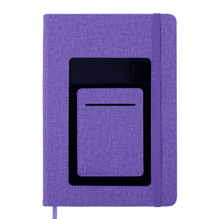 Блокнот деловой Comfort А5, 96л. фиолетовый (нелинованный) BM.295009-07