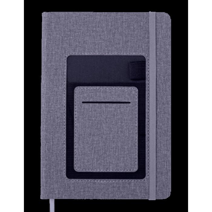Блокнот діловий Comfort А5, 96л. сірий (нелінований) BM.295009-09