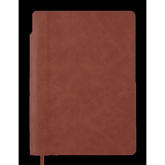 Блокнот діловий Fresh А5, 96арк. коричневий (клітинка) BM.295111-25