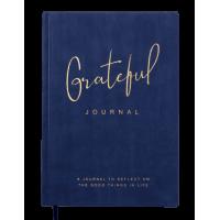 Блокнот деловой Grateful А5, 96л. синий (клетка) BM.295119-01