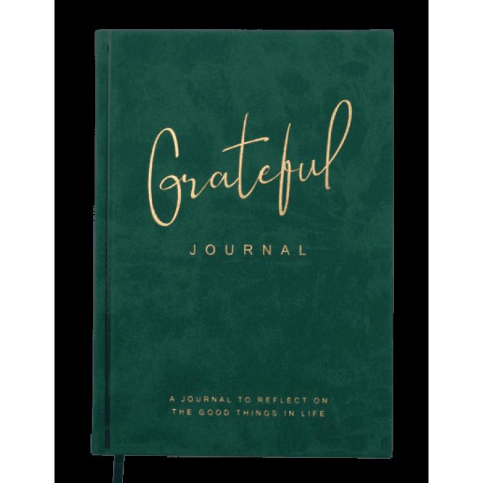Блокнот діловий Grateful А5, 96л. темно-зелений (лінія) BM.295219-16