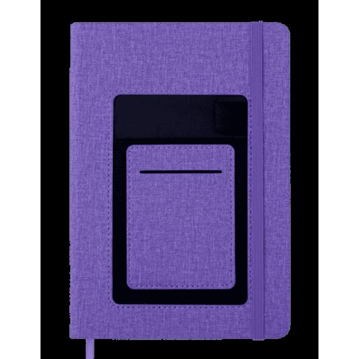 Блокнот деловой Comfort А5, 96л. фиолетовый (клетка)  BM.295109-07