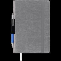 Блокнот деловой Code А5, 96л. серый (линия) BM.295215-09