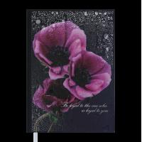 Ежедневник недатированный А5 Posh (темно-синий) 288стр