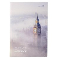 Книга канцелярська А4, 192 аркуші London (клітинка)  8423-21-a