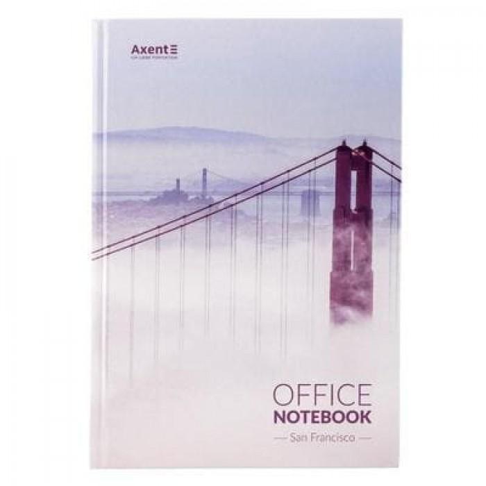 Книга канцелярська А4, 192 аркуші San Francisco (клітинка) 8423-22-a
