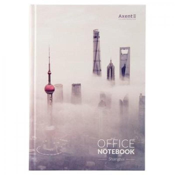 Книга канцелярська А4, 192 аркуші Shanghai (клітинка)  8423-24-a