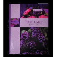 Книга канцелярська BOHO CHIC А4 96 аркушів (клітинка) фіолетовий bm.2400-207