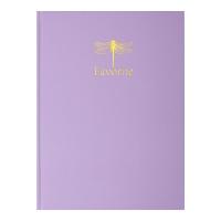 Книга канцелярська FAVOURITE (бузковий) А4, 96 аркушів, клітинка