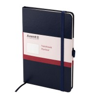 Книга записна Partner 125х195мм (синій/клітинка) 8201-02-A