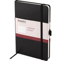 Книга записная Partner Grand 210х295мм (черный/клетка) 8203-01-A