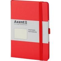 Книга записна Partner 125х195мм (червоний/крапка) 8306-05-a