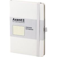 Книга записна Partner 125х195мм (білий/крапка) 8306-21-a