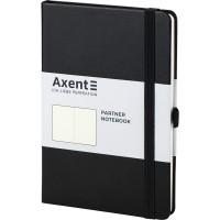 Книга записна Partner 125х195мм (чорний/нелінований) 8307-01-a