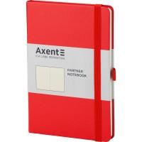 Книга записна Partner 125х195мм (червоний/нелінований) 8307-05-a