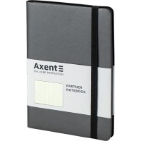 Книга записна Partner Soft 125х195мм (сірий/крапка) 8310-15-a