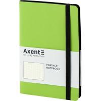 Книга записна Partner Soft 125х195мм (салатовий/крапка) 8312-09-a