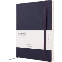 Книга записная Partner Soft L 190х250мм (синий/клетка) 8615-02-a
