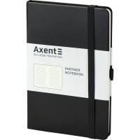 Книга записна Partner 125х195мм (чорний/лінія) 8308-01-A