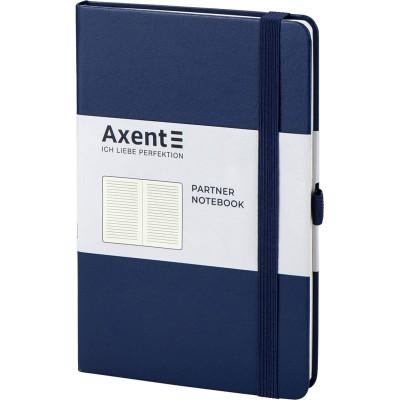 Книга записна Partner 125х195мм (синій/лінія) 8308-02-A