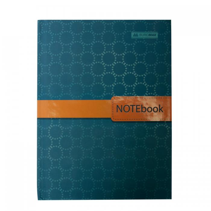 Книга записная INSOLITO, А5, 96 листов (клетка) бирюзовый