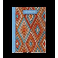 Книга записная WEAVE А6, 64 листа (клетка) голубой