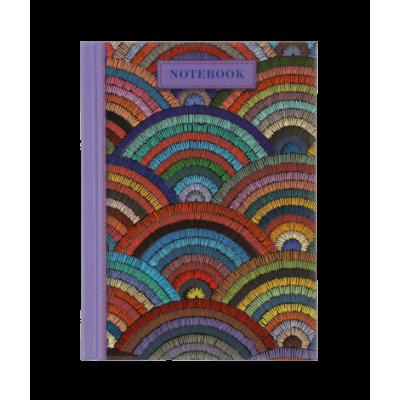 Книга записна WEAVE А6, 64 аркуші (клітинка) бузковий