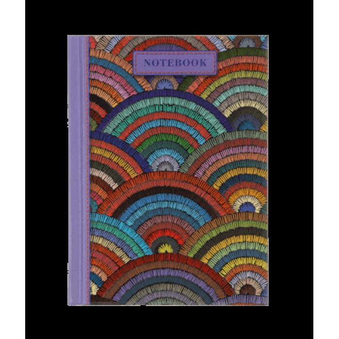 Записна книга WEAVE А6, 64 аркуші (клітинка) бузковий
