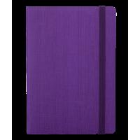 Блокнот деловой Color Tunes А5, 96л. фиолетовый (линия)  BM.295200-07
