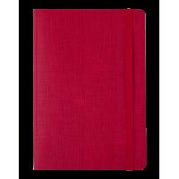Блокнот діловий Color Tunes А5, 96л. червоний (лінія)  BM.295200-05