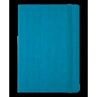 Блокнот деловой Color Tunes А5, 96л. бирюзовый (линия)  BM.295200-06