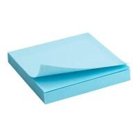 Блок бумаги с клейким слоем 75х75 синий,100л. 2314-04-A