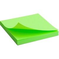 """Блок бумаги с липким слоем """"Brilliant"""" 75х75, зеленый 2414-12-A"""