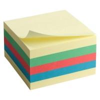 Блок паперу з клейким  шаром 75х75, пастель 2324-00-A