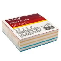 Блок бумаги для записей 9х9х3см (склеенный) D8014