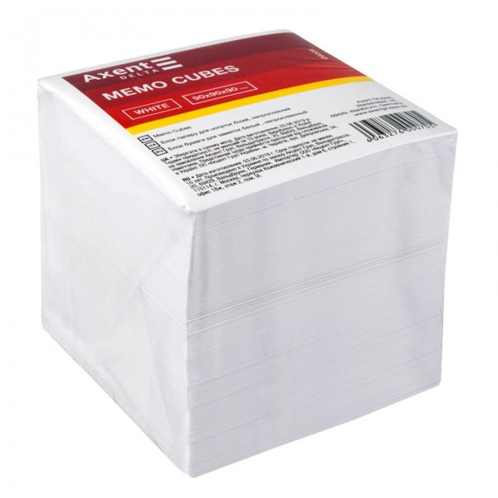 Блок бумаги для записей 9х9х9см (не склеенный) D8009