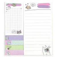 Блок бумаги с клейким слоем Cats набор