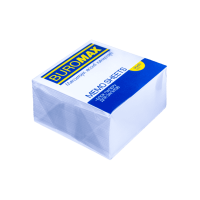 Блок паперу білий (не склеєний)  90х90х50мм