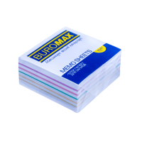 Блок бумаги Радуга (не склеенный) 90х90х40мм.