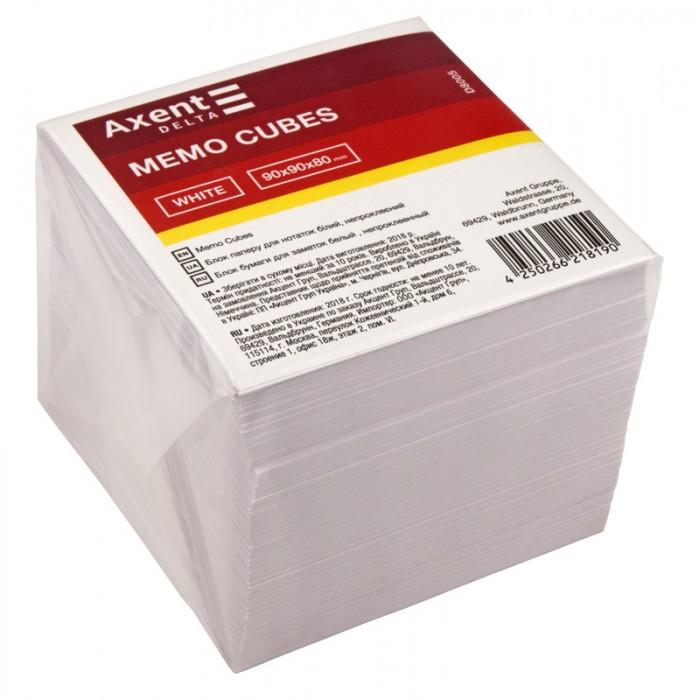 Блок бумаги для записей 9х9х8см (не склеенный) D8005