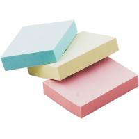 Блок паперу для заміток з клейким шаром 38х51мм (асорті) 100арк